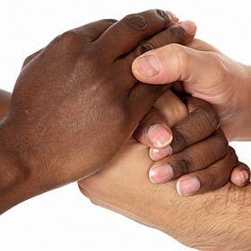 Do you feel that relations between blacks and whites are mostly positive, moderately positive, or negative?